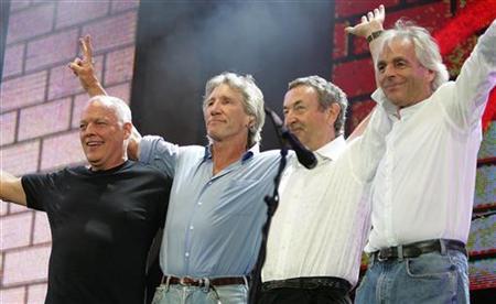 Με τους Pink Floyd