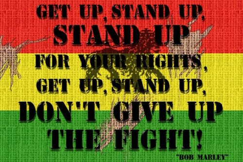 Get Up, Stand Up!